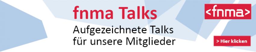 Werbebanner fnma talks